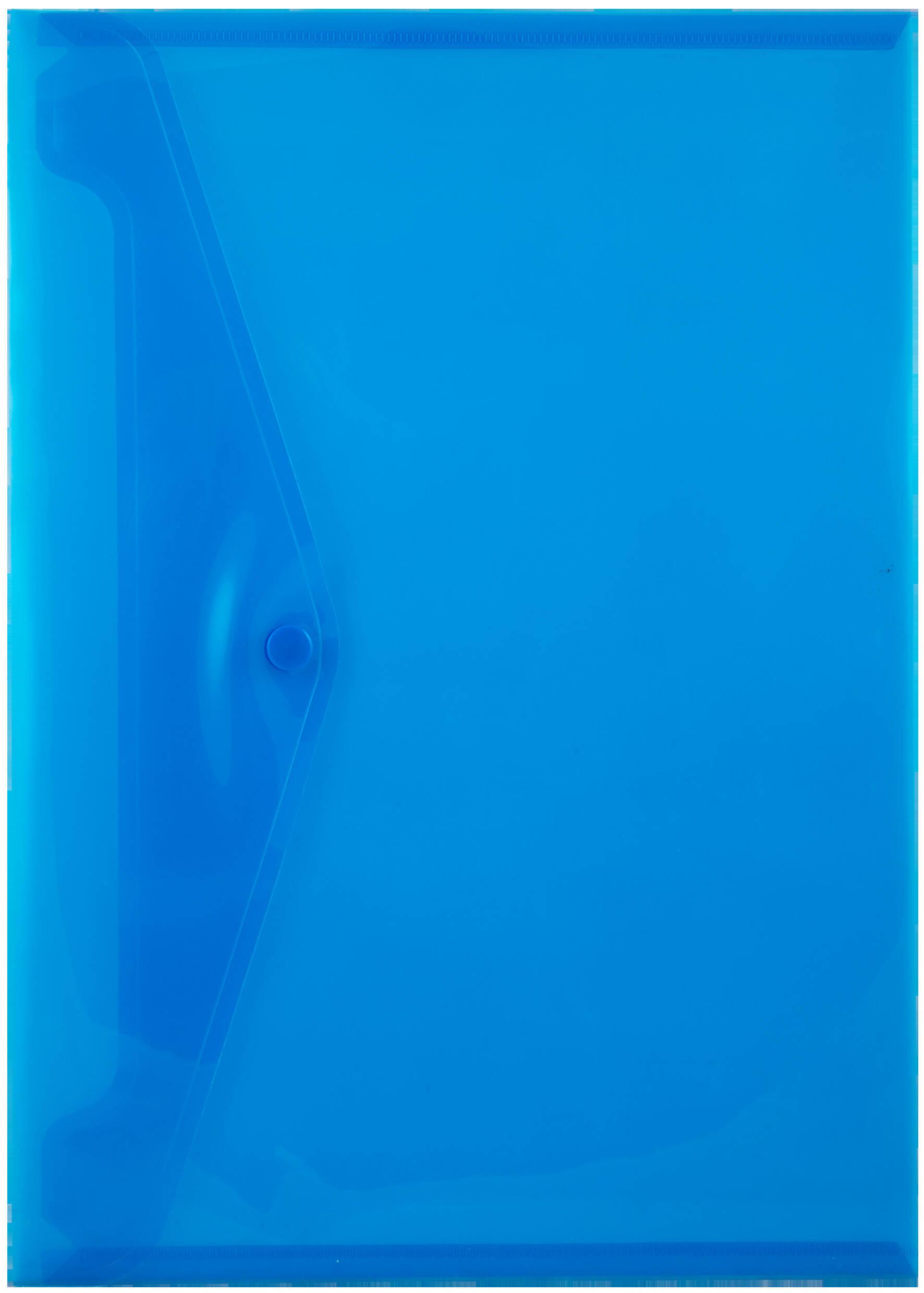 A4 Carry Folders - 160 Micron - Blue