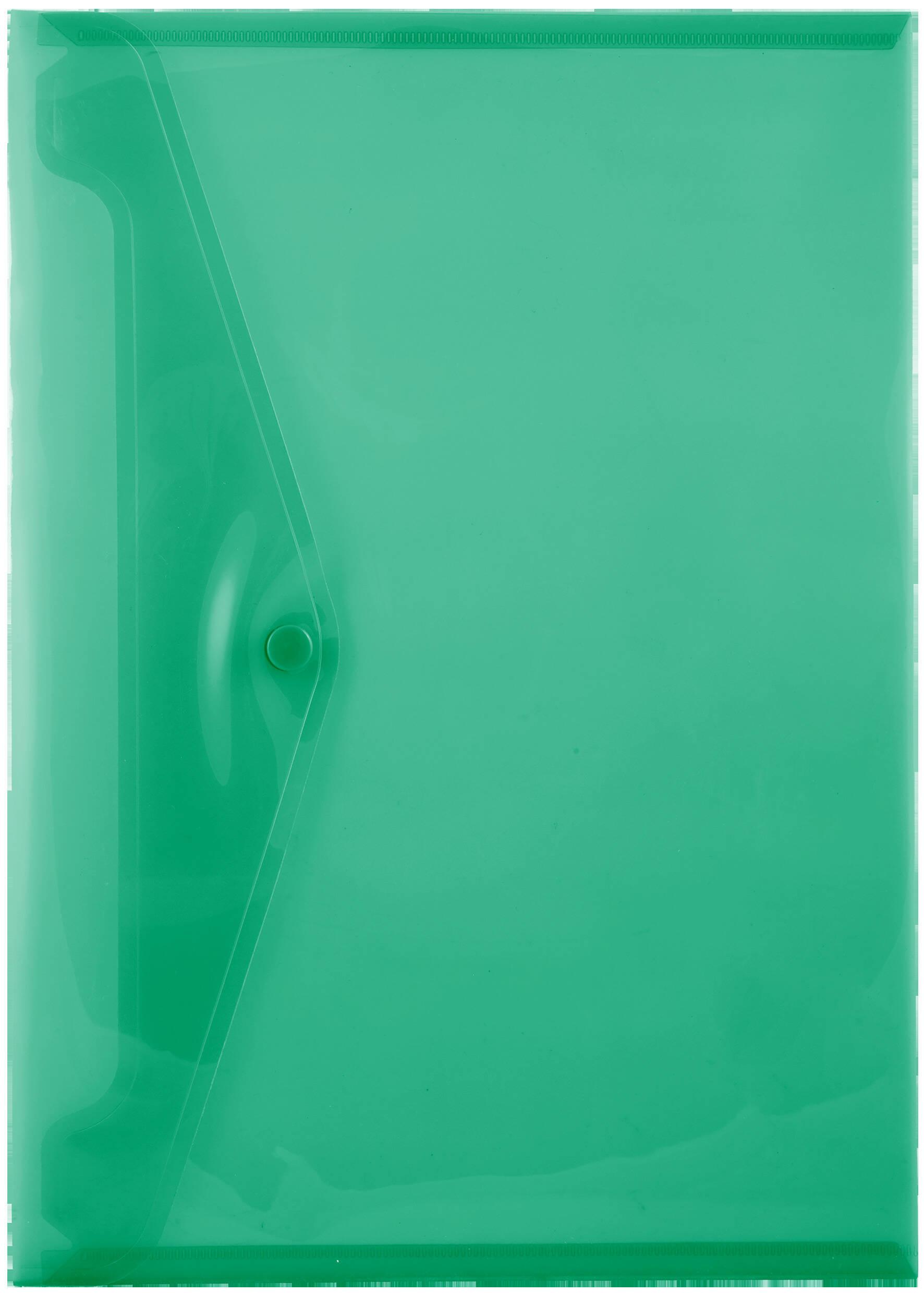 A4 Carry Folders - 160 Micron - Green