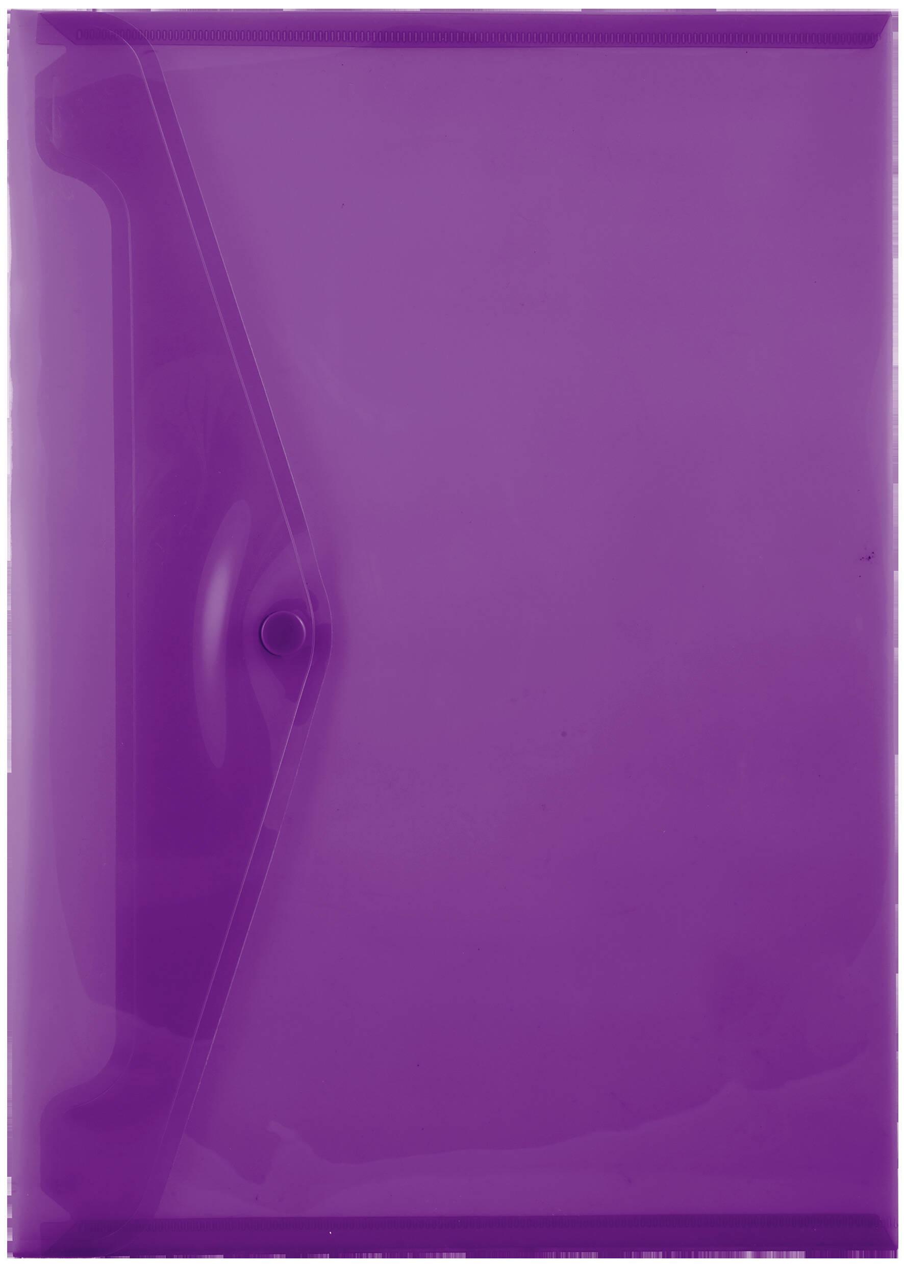 A4 Carry Folders - 160 Micron - Violet