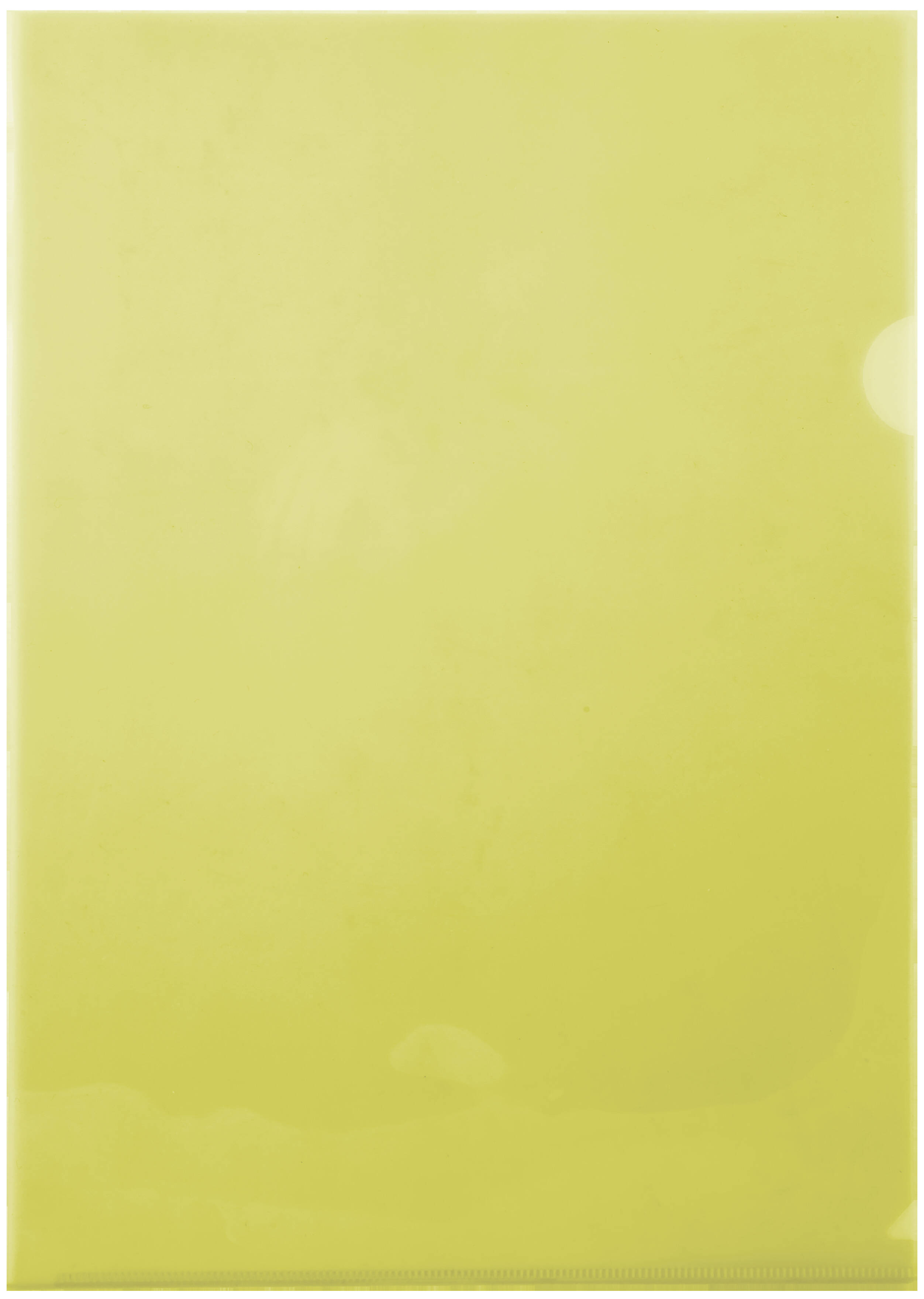 A4 Secreterial Folders - 160 Micron - Yellow