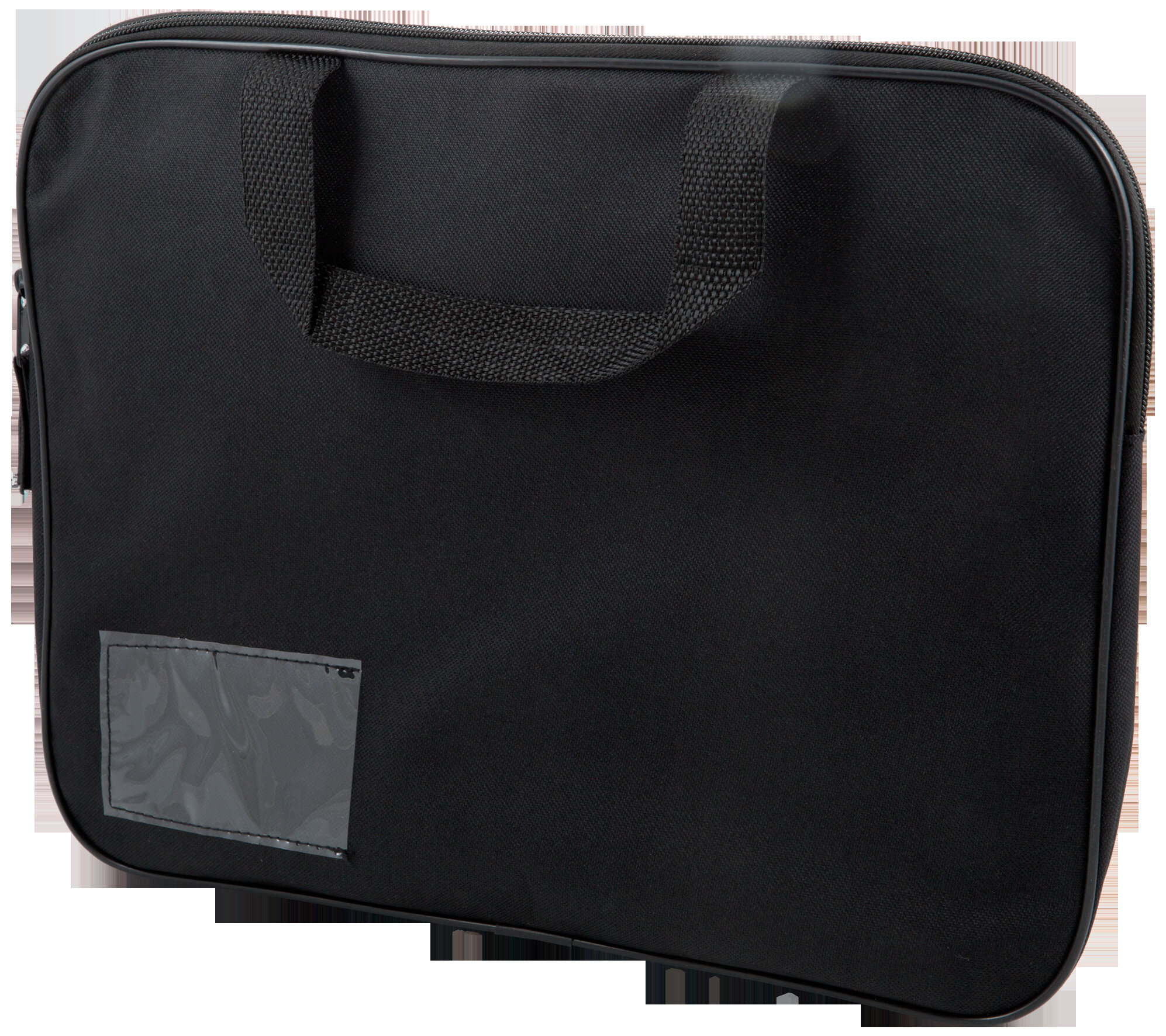 Homework Bag (Book Bag) With Handle - Black