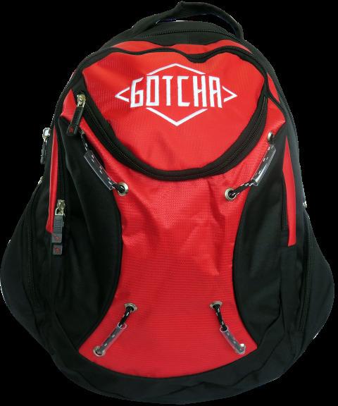 Gotcha Large School Backpack - Speedster Red