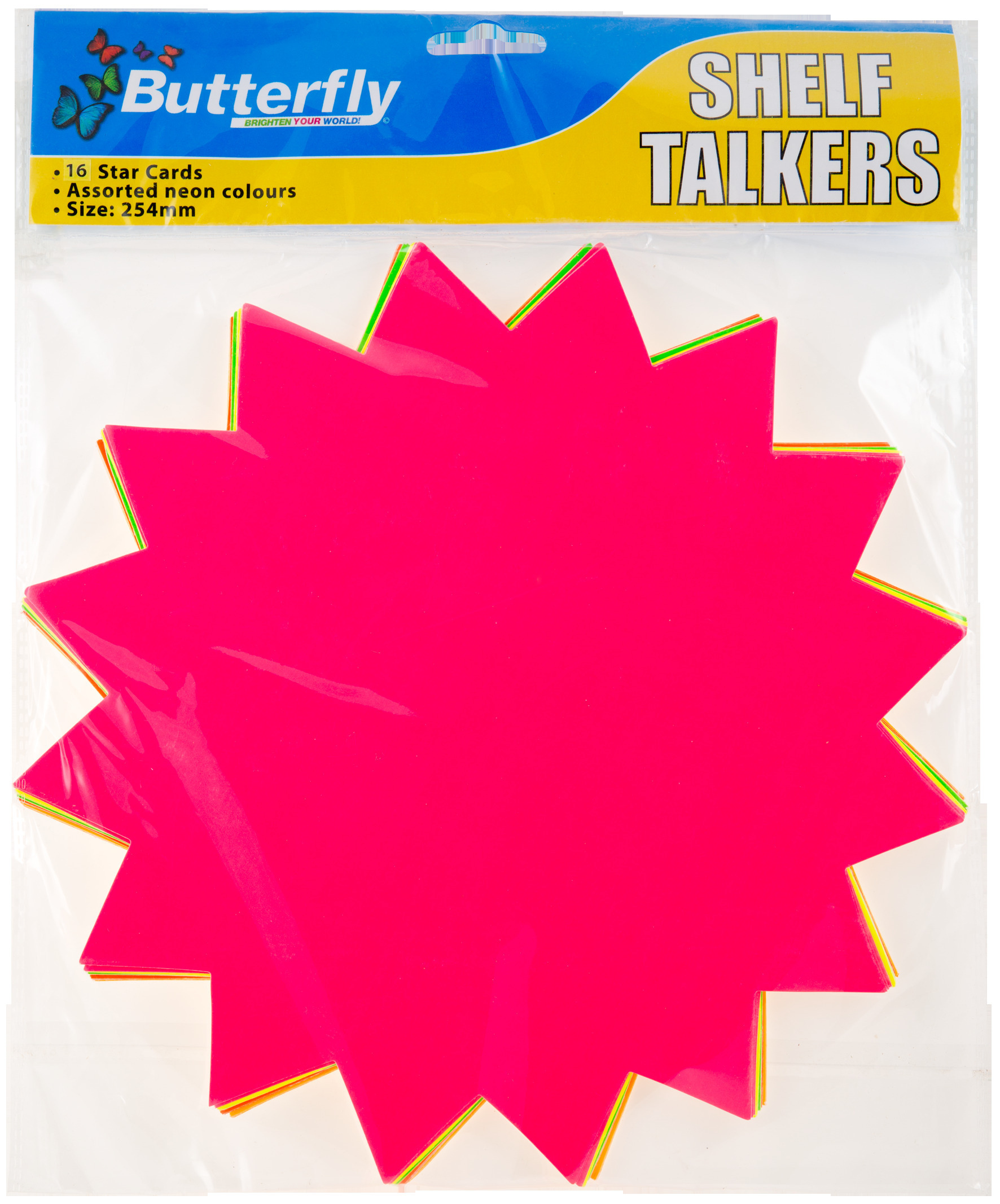 Shelf Talkers - Card Stars 16 (254mm)