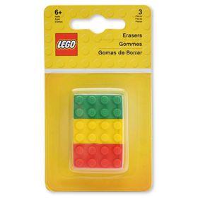 LEGO Iconic Brick Erasers (3)