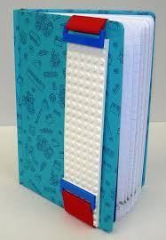 LEGO Journal with Building Band (Blue)