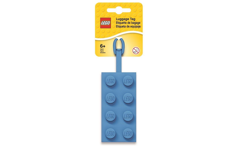 LEGO 2x4 Blue Luggage Tag
