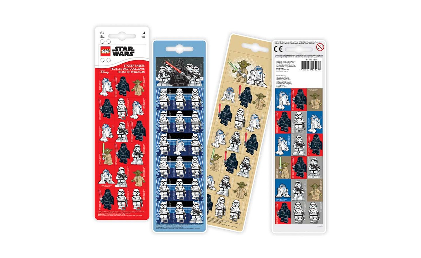 LEGO Star Wars - Sticker Sheets (4 Sheets)