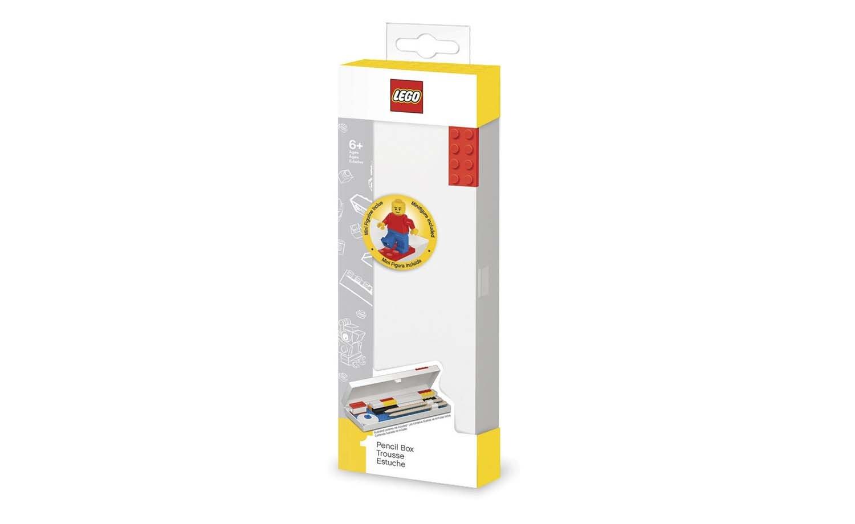 LEGO Pencil Box (Red) w/minifigure