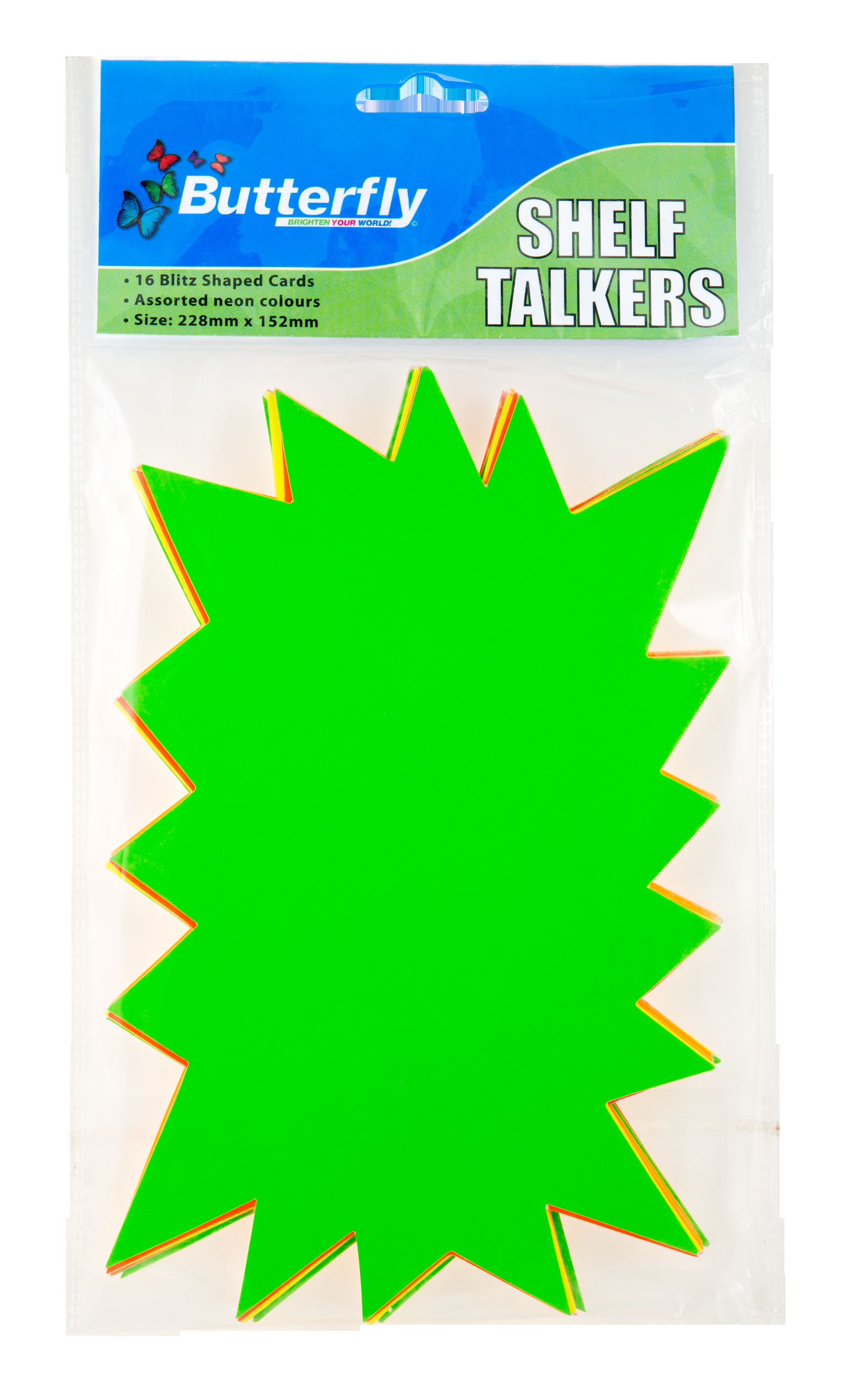 Shelf Talkers - Blitz Cards 16 (228 x 152mm)