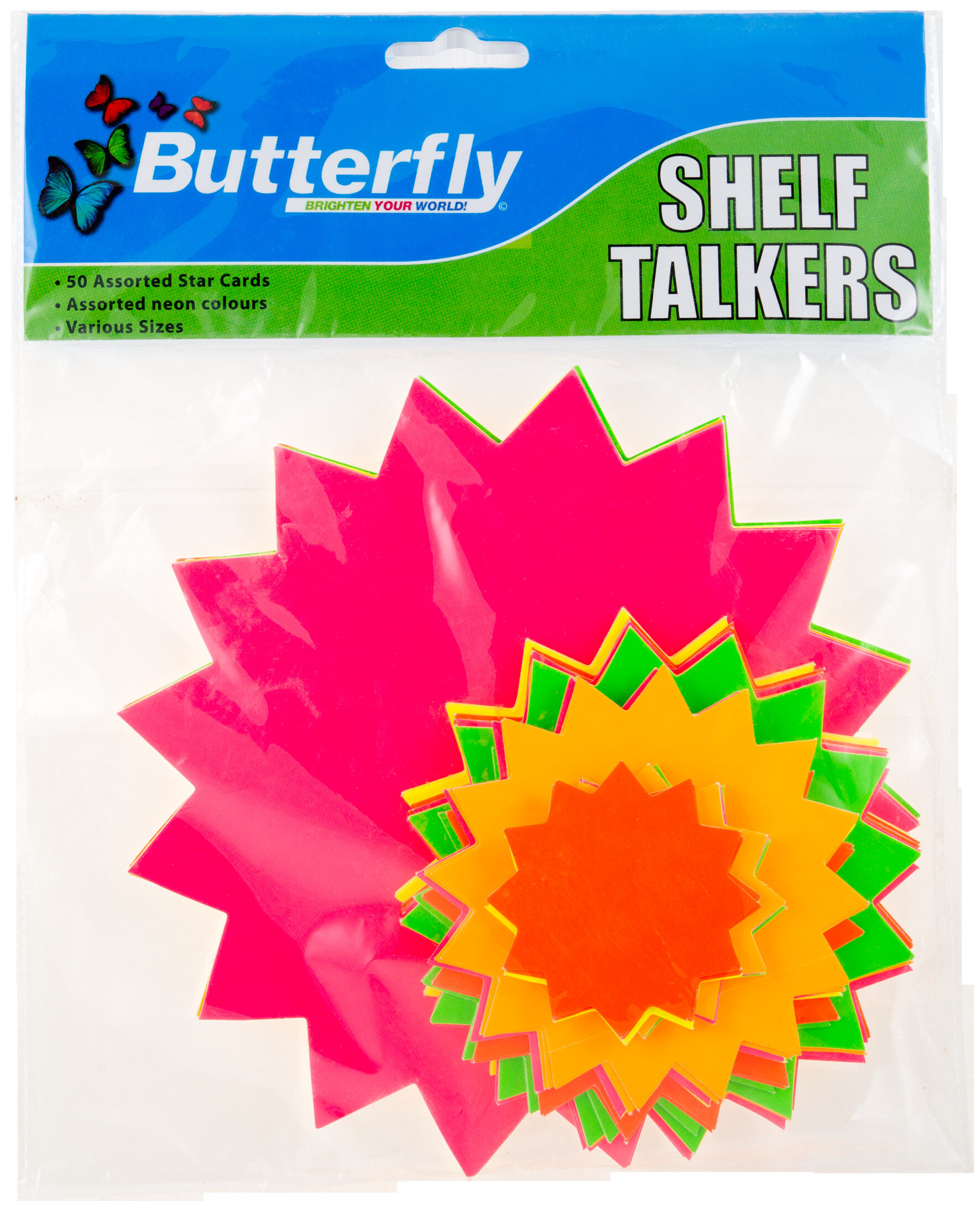 Shelf Talkers - Stars Assorted 50