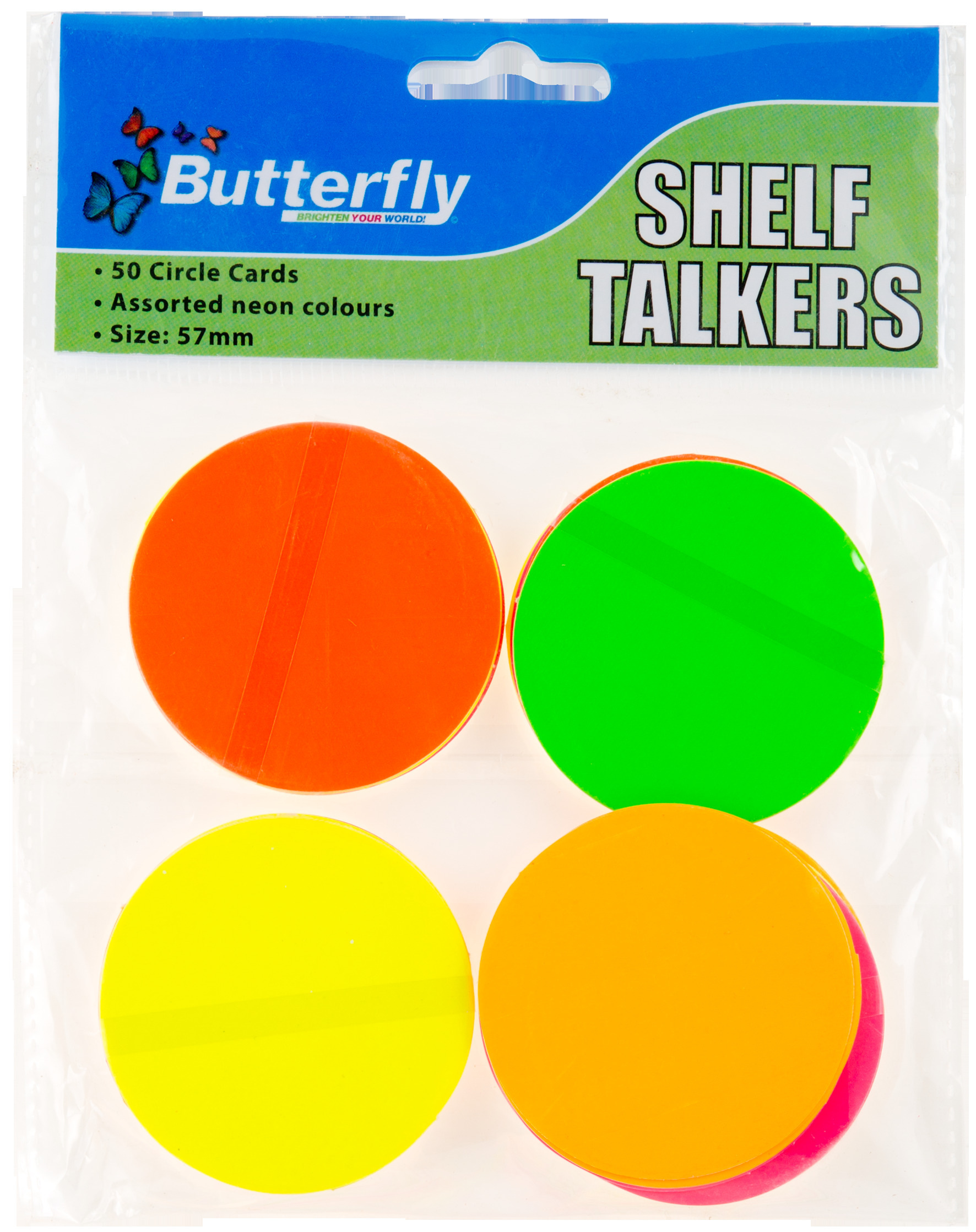 Shelf Talkers - Card Circles 50 (57mm)