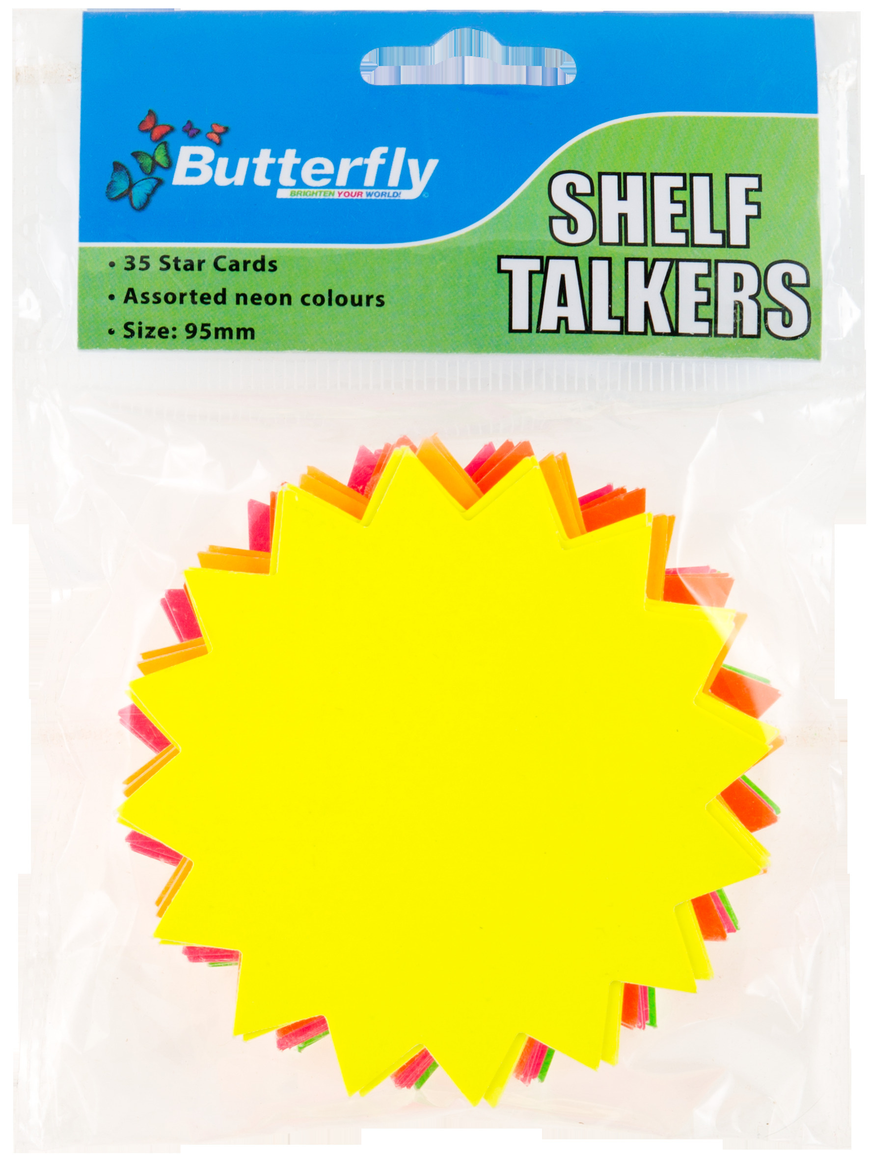 Shelf Talkers - Card Stars 35 (95mm)