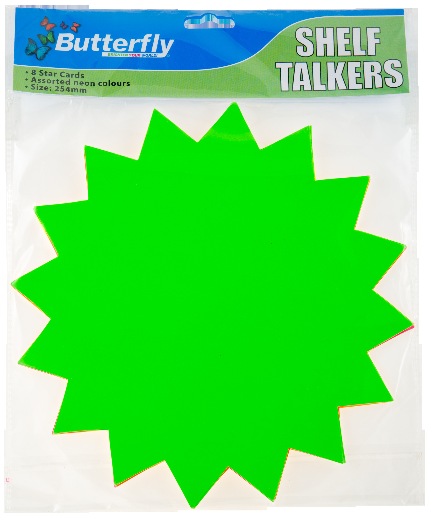 Shelf Talkers - Card Stars 8 (254mm)