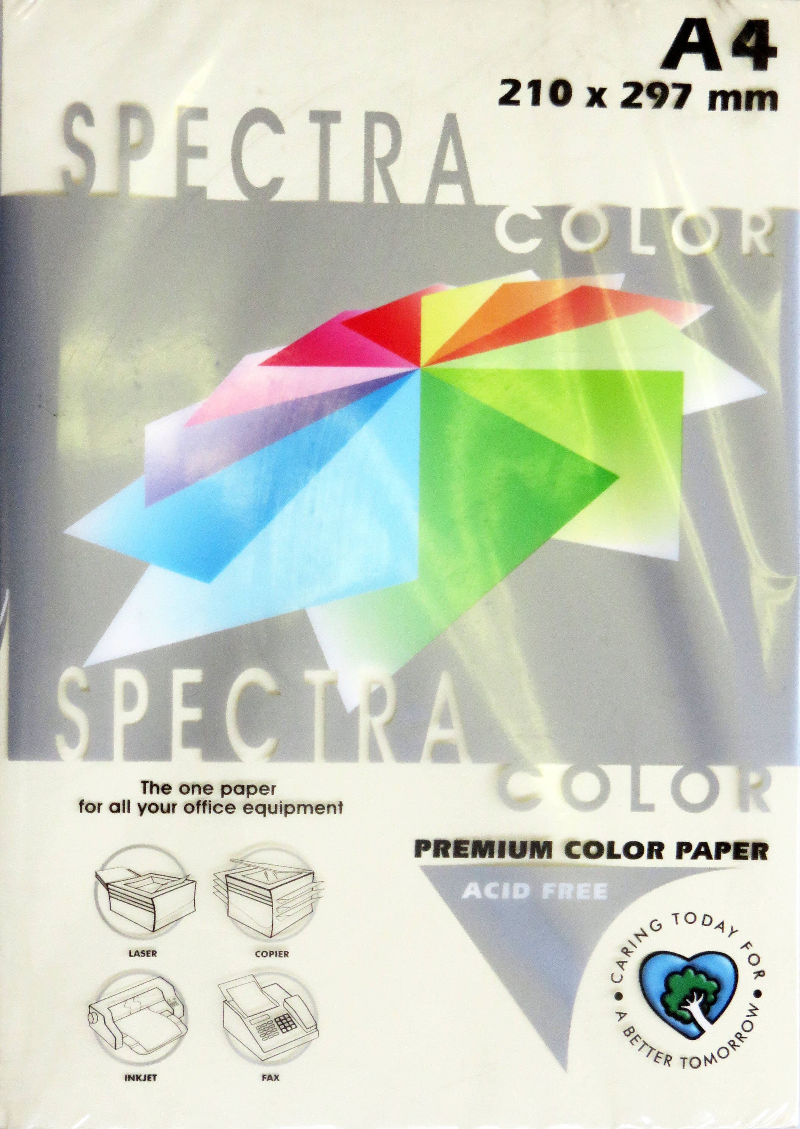 A4 Pastel Paper - Pack of 500 Buff (IK100)