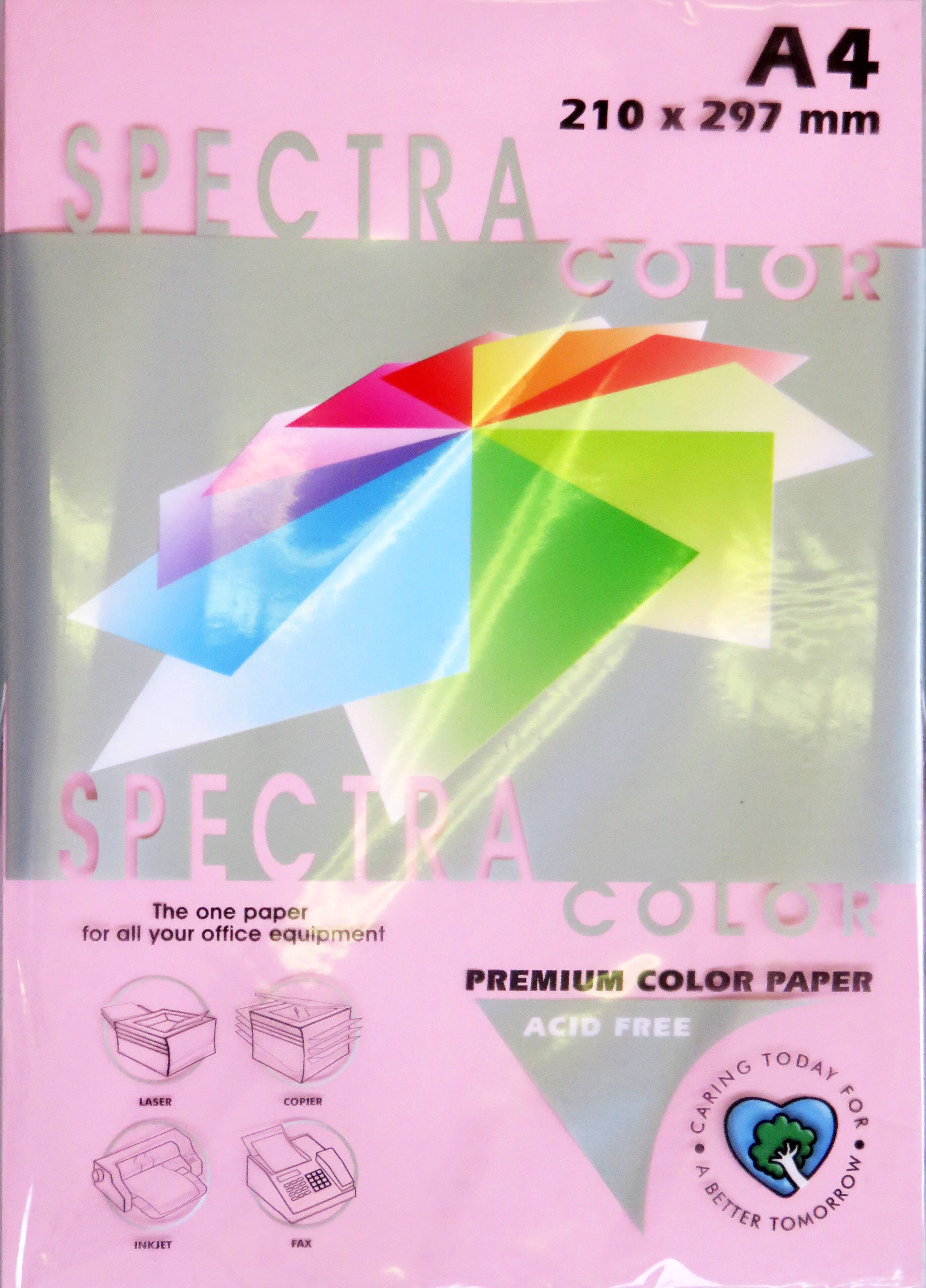 A4 Pastel Paper - Pack of 500 Pink (IK170)