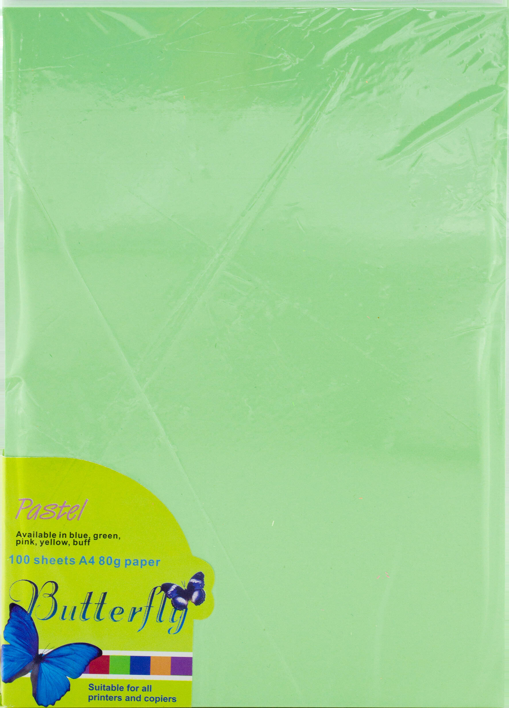 A4 Pastel Paper - Pack of 100 Green
