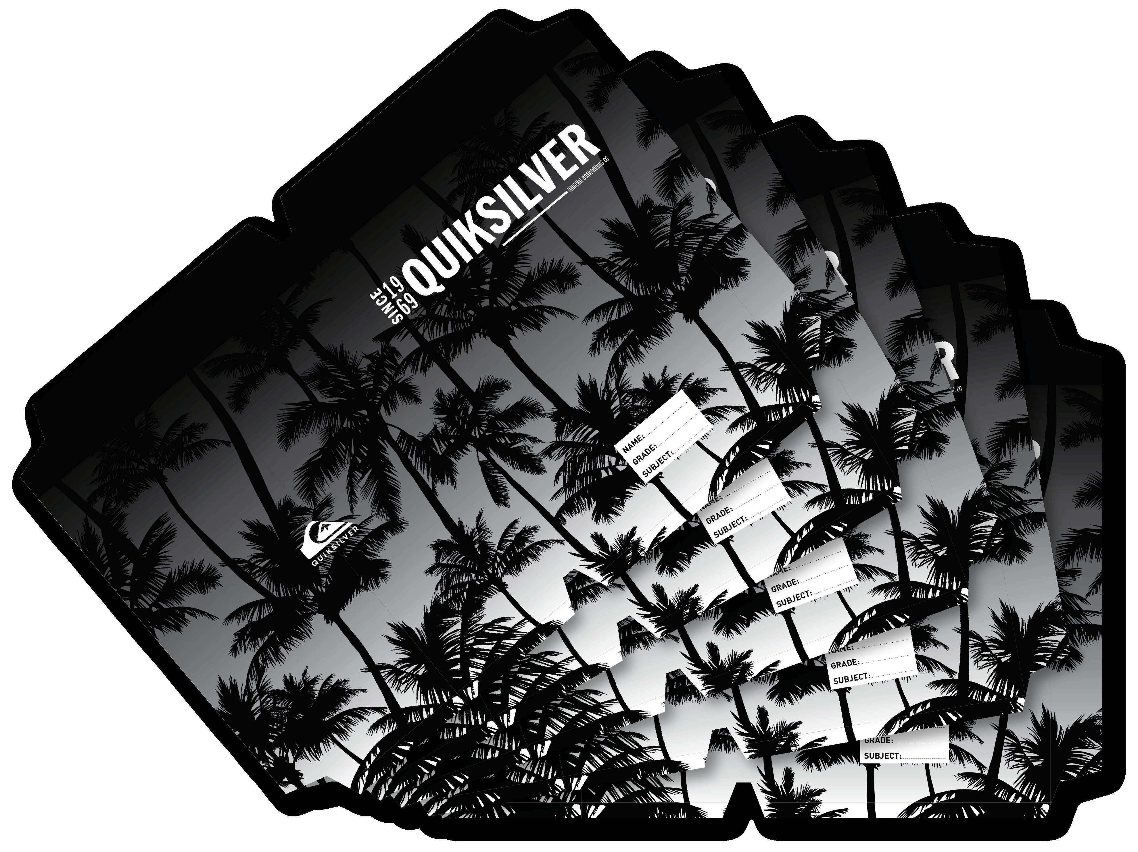 Quicksilver - A4 Precut Book Cover - 5 Pack