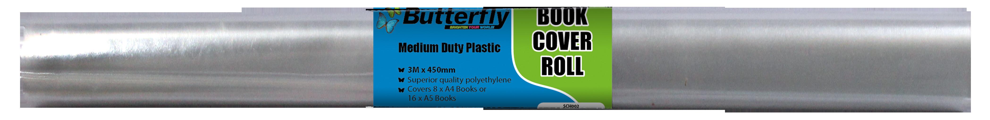 Book Cover Roll - Medium Duty 50 Micron (3m x 480mm)