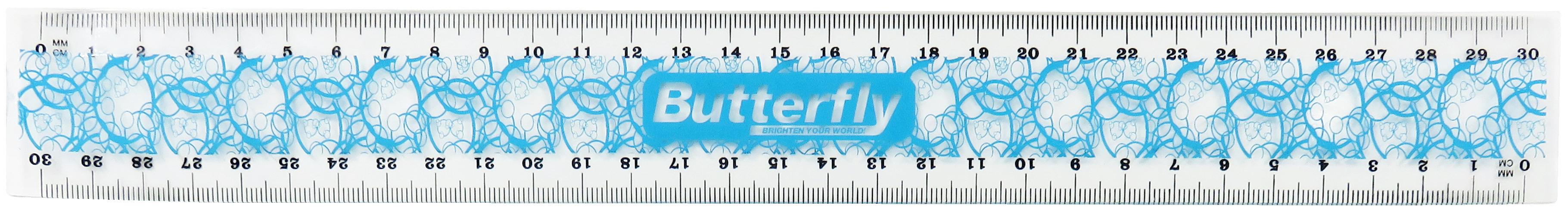 Flexible PVC Ruler - Boys (30cm)