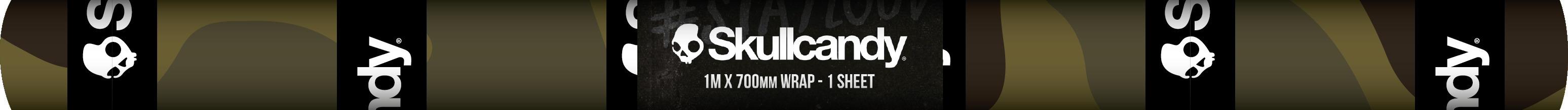 Skullcandy Boys - 1m x 700mm Book Cover Wrap - 1 Sheet