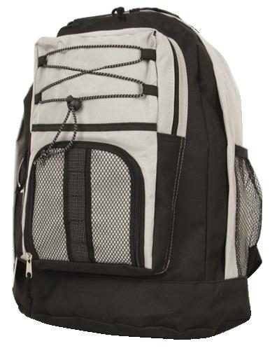 Student Laptop Backpack (VSC) - Black-Beige