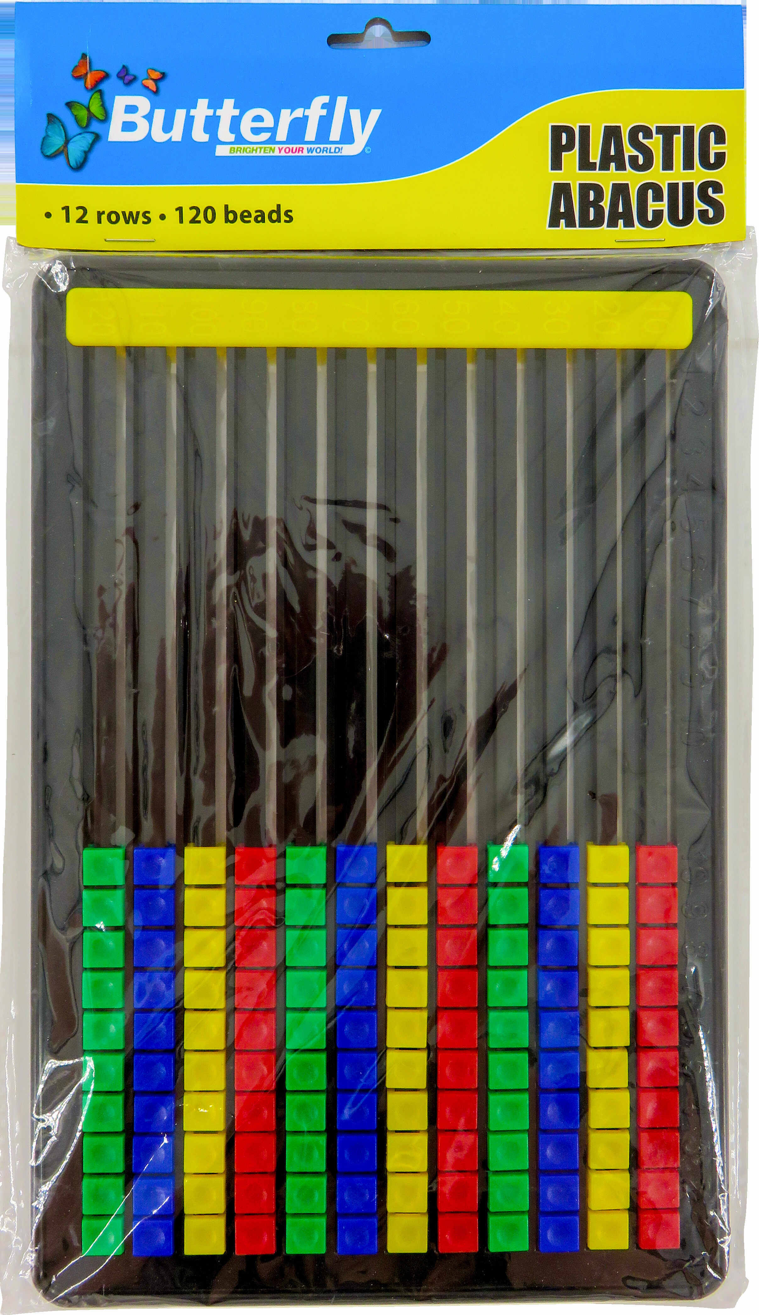 Toy Abacus Plastic - 120 Bead Edu Counting