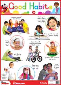 Disney Junior - Wallchart Good Habits