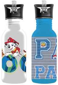 Paw Patrol Boys Aluminium Drinking Bottles (You Get 1 of 2 Designs)