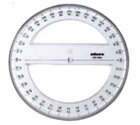 Protractor 15cm 360deg L09010
