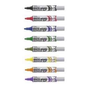 Pentel MWL5 Maxiflo Whiteboard Black Marker