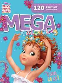 Disney Fancy Nancy - 120pg Mega Colour & Activity Book