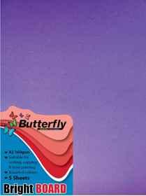 A2 Bright Board - Pack of 5 Purple