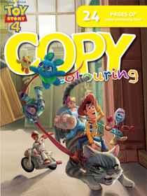 Disney Toy Story 4 - 24pg Copy Colour Book