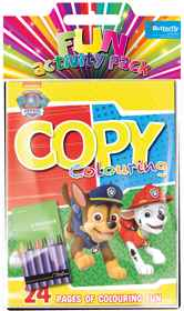 Paw Patrol - Hanging Colouring Pack