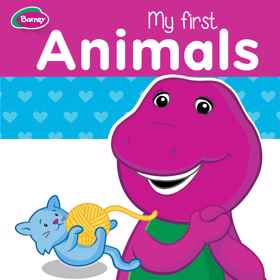 Barney Board Book - My First Animals