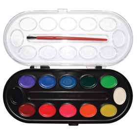 Water Colour Paint 12 Colours