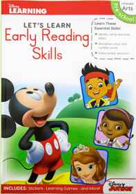 Disney Let's Learn - 80pg Early Reading Skills