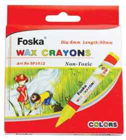 Foska Regular Wax Crayons 24'S