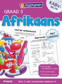 E-Klaskamer Werkboek - Afrikaans - Gr 3