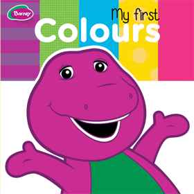 Barney Board Book - My First Colours