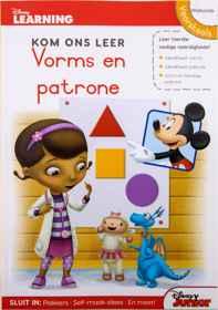 Disney Kom Ons Leer - 80pg Vorms en Patrone
