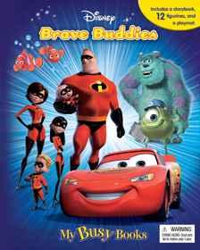 Disney - Brave Buddies - My Busy Book