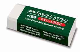 PVC Free Drawing Eraser