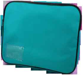Document Bag (Book Bag) - Teal