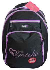 Gotcha Large School Backpack - Purple Apocolypse