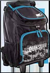 Quicksilver Trolley Bag - Echo Wheelie