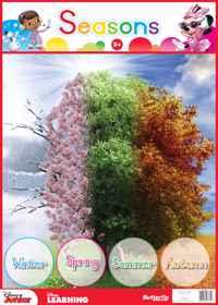 Disney Poster - Seasons