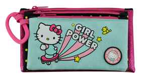Hello Kitty - 3 Compartment Pencil Case 23cm