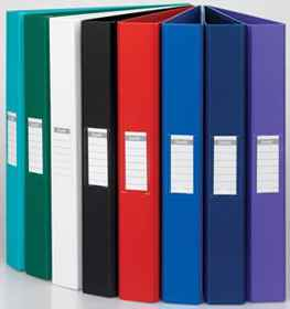 Bantex A4 Polyprop Ringbinder 25mm Red