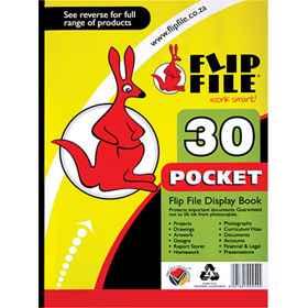 Flip File A4 30 Page Kangaroo